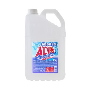 Álcool Gel 70° 4,5kg - Alvo