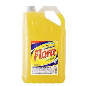 Detergente neutro 05 Lt - Lava louca Flora