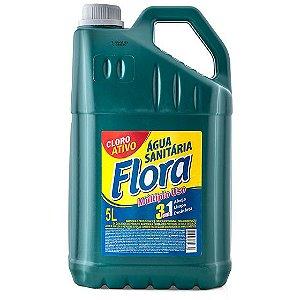 Agua Sanitária 05 Lt - Flora