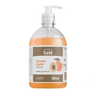 Sabonete liq  500ml gold pessego pump - Audax