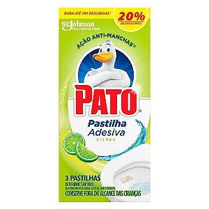 Pastilha Sanitária Pato Citrus Com 3 Unidades