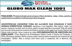 MAX CLEAN 1001 LAVA A SECO 1LITRO (SUPER CONCENTRADO 1:200)
