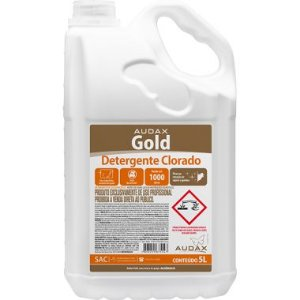 DETERGENTE CLORADO CONCENTRADO GOLD 5L
