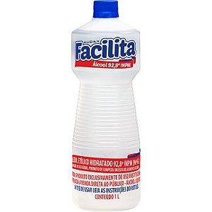 ALCOOL LIQ 92º 01LT FACILITA - AUDAX