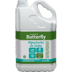 HIPOCLORITO DE SÓDIO BUTTERFLY 5L - AUDAX