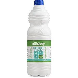 Hipoclorito de sódio 01 Lt - butterfly