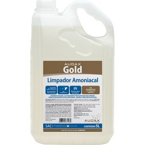 LIMPADOR AMONIACAL 05LT AUDAX GOLD