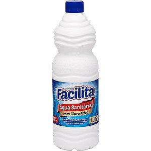 Agua Sanitária 01 Lt - Facilita