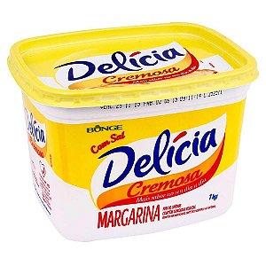 Margarina 1kg delícia/qualy
