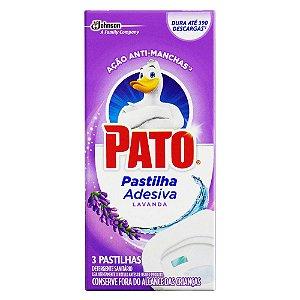 Pastilha Sanitária Pato Lavanda / Fresh Com 3 Unidades