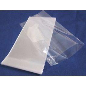 Saco plástico 13x25 transparente
