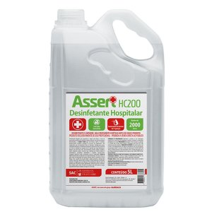 Desinfetante hospitalar assert hc200 5 litros Audax