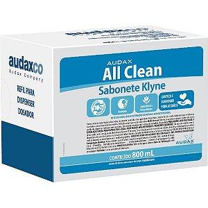Sabonete liq 800ml refil klyne c/glicerina talko - Audax