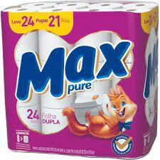 Papel hig max compacto fd 30m l24 p21 neutro