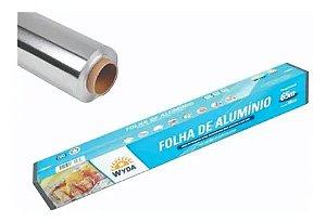 Folha Papel De Alumínio  45X 65M Caixa 1u Wyda
