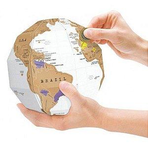 Mapa Mundi Globo Raspadinha