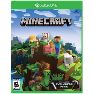 Game Minecraft: Explorers Pack - Xbox One