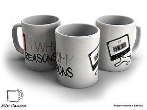 Caneca13 Reasons Why