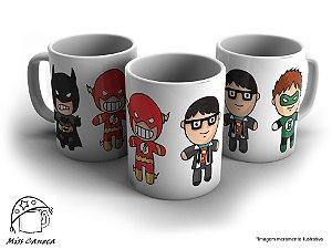 Caneca Heróis da DC Comics