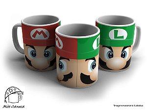 "Caneca ""Mario Bros"""
