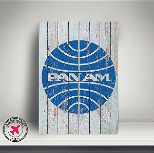 Quadro Aviação Vintage Pan Am