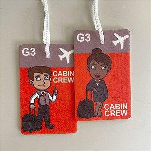 Tag de mala CABIN CREW G3
