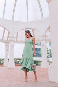 Vestido Maya ALÇA VERDE MINT