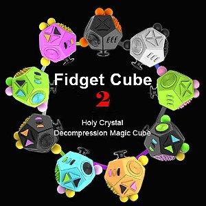 Novo Fidget Cube Qualidade 12 Funções Hiperativo Ansiedade