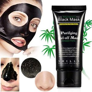 Máscara Facial Preta Peel Off Removedor De Cravos Black Mask Shills 50ml
