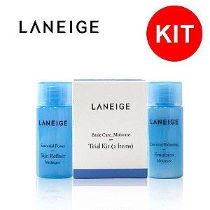 Laneige Kit 2 Itens - Tônico 15ml + Emulsão 15ml