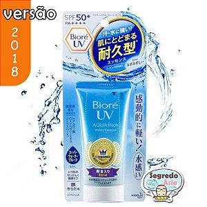 Protetor Solar Biore UV Aqua Rich Watery Essence 2018 SPF50+ PA++++ 50g