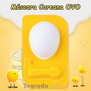 Máscara Facial Coreana Ovo Egg Mask