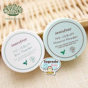 Innisfree No Sebum Mineral Powder Pó Matificado Anti Oleosidade 5g