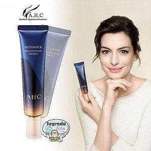 Creme Coreano Anti Ruga Bolsa Olheira AHC Ultimate Real Eye Cream For Face P/ Olhos e Rosto 7ª Geração 30ml