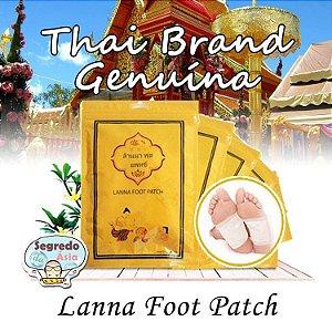 Adesivo Saúde Eliminador De Toxinas Detox Lanna Foot Patch Original Tailândia 10 Unids.