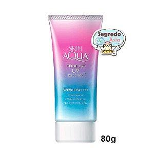Protetor Solar Rohto Skin Aqua Tone Up UV Essence SPF50+ PA++++ 80g