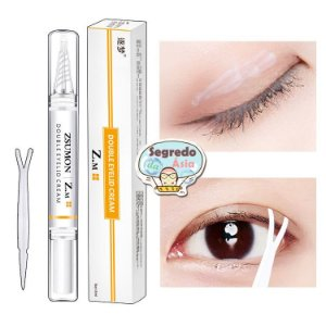 Creme Modelador Pálpebra Caída Dobrinha Nos Olhos Zsumon Z.M Double Eyelid Cream 5ml
