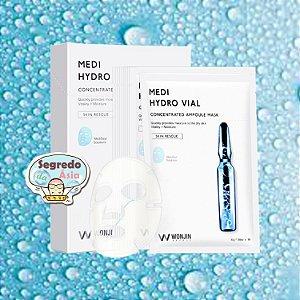 Máscara Facial Coreana Wonjin Effect Hydro Vial Concentrated Ampoule Mask 30g