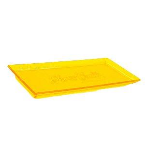 Bandeja de acrílico Glass Crew - Amarela