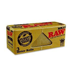 Seda Raw Rolo - 3 metros