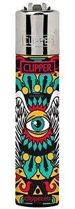 Isqueiro Clipper Recarregável - Asas
