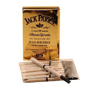 Cigarrilha de Palha Jack Paiols Extra Premium - Com piteira