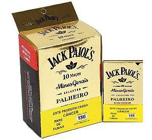 Cigarrilha de Palha Jack Paiols Extra Premium - Com piteira - Caixa com 10 maços