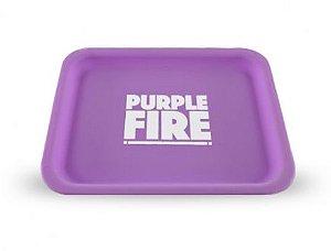 Bandeja de Silicone Purple Fire - Brilha no escuro