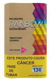 Tabaco para cigarro Rainbow Golden Brown 100% Orgânico