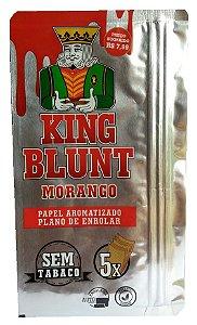 King Blunt sabor Morango Sem Tabaco
