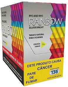 Tabaco para cigarro Rainbow Silver Bright Box 6un