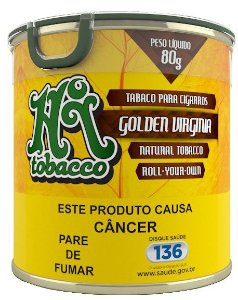 Tabaco para Cigarro Golden Virginia Lata 80g