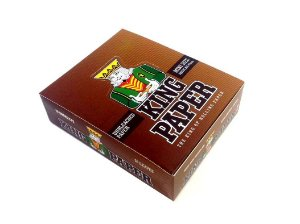 Seda King Paper Brown Mini Size - Display 20 Un