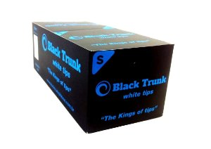 Piteira de Papel Black Trunk White Small - Box 20 Un